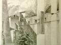 Porta-romana-da-Pannini-matita-su-carta-30x30-2004-