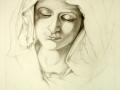 studio-di-volto-femminile-matita-su-carta-28x24-1997