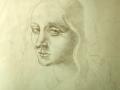 volto-di-donna-matita-su-carta-40x30-1996