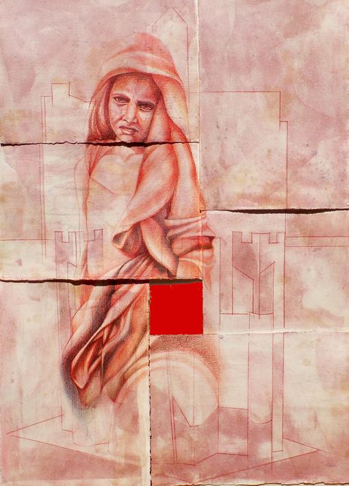 dissolvenza2tecnicamistasucarta125x90cm2011