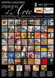 locandina mostra galleria sciortino 2011